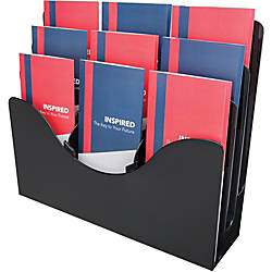 Deflecto 3 tier Document Organizer 9