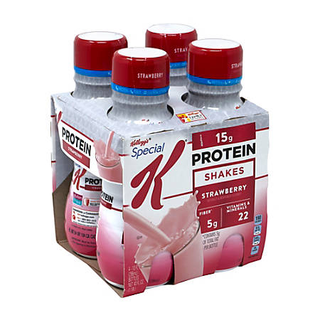 Special K Strawberry Protein Shakes, 10 Oz, Pack Of 12 Bottles