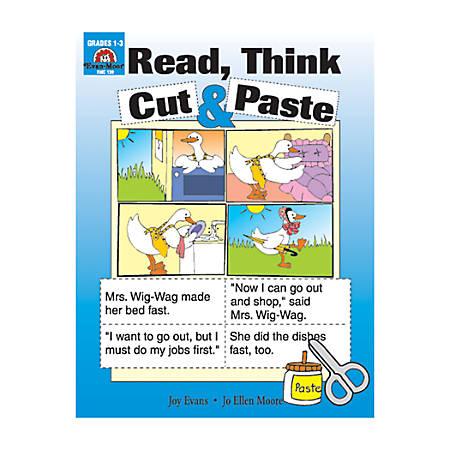 Evan-Moor® Sequencing, Read, Think, Cut & Paste