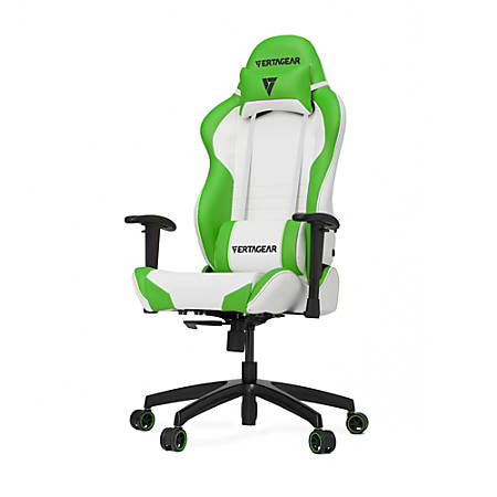 Vertagear Racing Series S-Line SL2000 Gaming Chair, White/Green