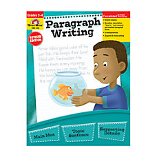 Evan Moor Paragraph Writing Grades 2
