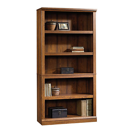Sauder® Select Bookcase, 5 Shelf, Washington Cherry