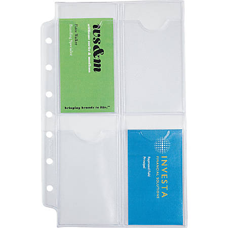 Day timer organizer accessory businesscredit card holders 5 12 x 8 day timer organizer accessory businesscredit card colourmoves