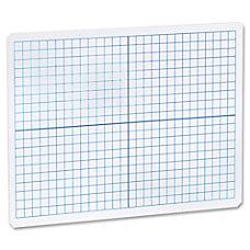 Flipside Grid SidePlain Side Dry Erase