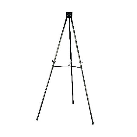 Quartet® Heavy-Duty Telescoping Easel, Black