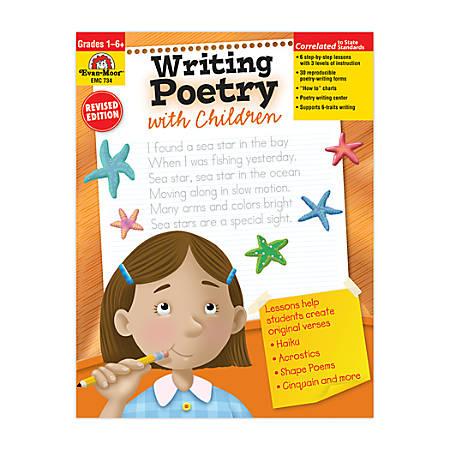 Evan-Moor® Writing Poetry With Children, Grades 1-6