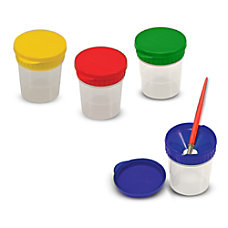 Melissa Doug Spill Proof Paint Cups