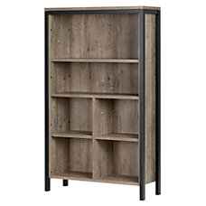 South Shore Munich 6 Shelf Bookcase