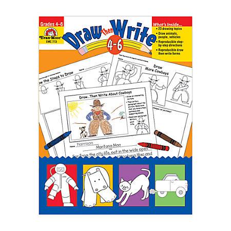 Evan-Moor® Draw-Then Write, Grades 4-6