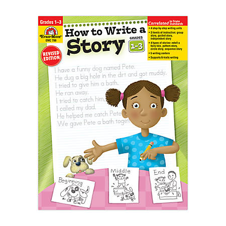 Evan-Moor® How To Write A Story, Grades 1-3