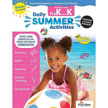 Evan-Moor® Daily Summer Activities, Moving From PreK To Kindergarten