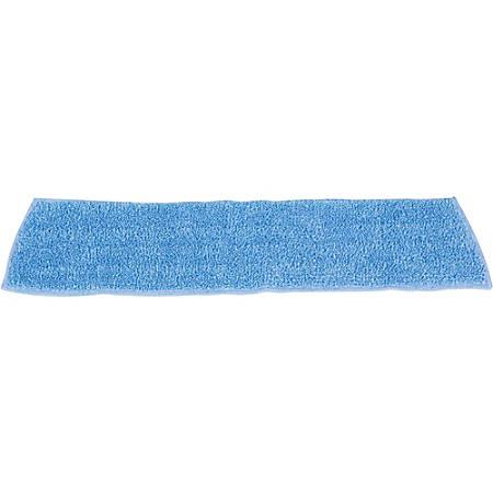 "Rubbermaid Commercial Standard Microfiber Damp Mop - 5"" Width x 18"" Length - Nylon, Polyester, MicroFiber"