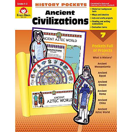 Evan-Moor® History Pockets, Ancient Civilizations, Grades 1-3