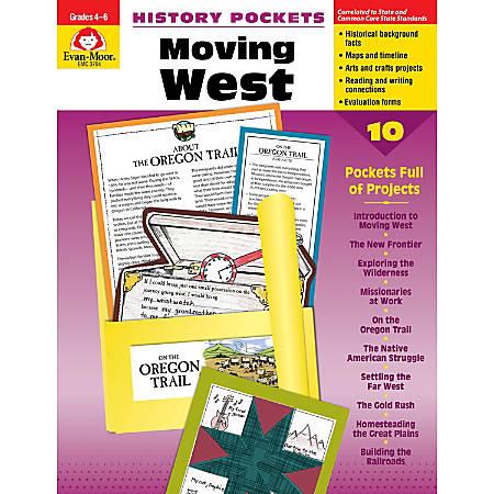 Evan-Moor® History Pockets, Moving West, Grades 4-6