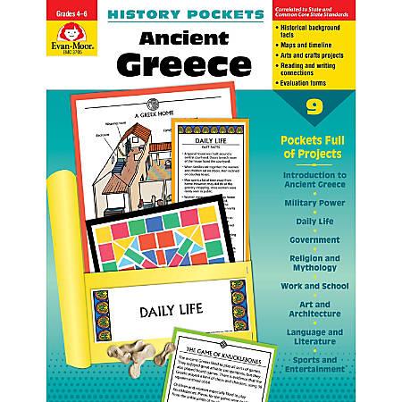 Evan-Moor® History Pockets, Ancient Greece, Grades 4-6