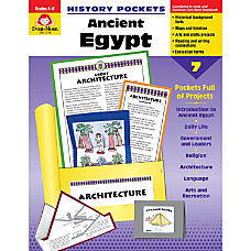 Evan Moor History Pockets Ancient Egypt