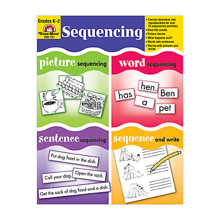 Evan-Moor® Early Learning Resources, Sequencing