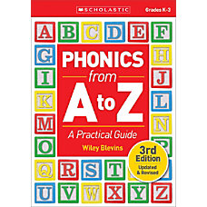 Scholastic Teacher Resources Phonics from A