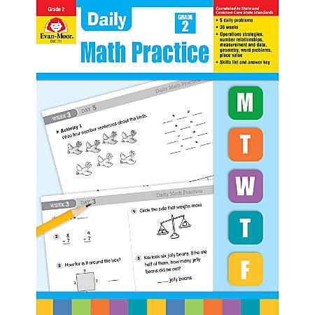 Evan-Moor® Daily Math Practice, Grade 2