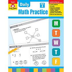 Evan Moor Daily Math Practice Grade