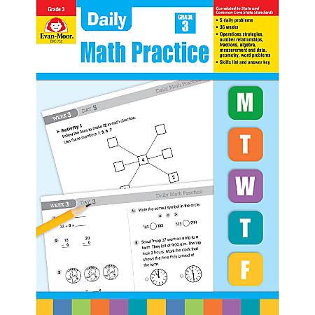 Evan-Moor® Daily Math Practice, Grade 3