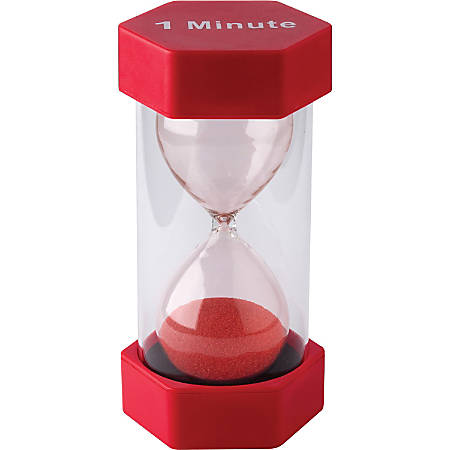 Teacher Created Resources 1 Minute Sand Timer-Large - Theme/Subject: Clock - Skill Learning: Time
