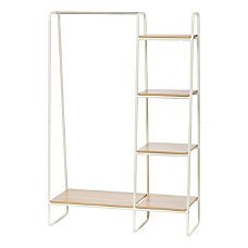 IRIS Metal Garment Rack With Wood