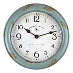 8.5u0022 Teal Patina Wall Clock Turquoise - FirsTime