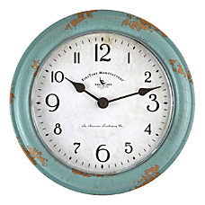 FirsTime Co Patina Round Wall Clock