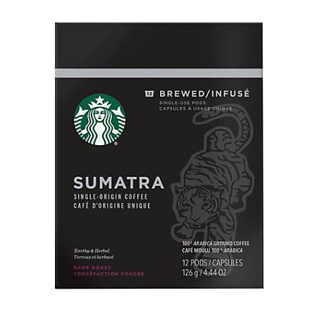 Verismo™ Sumatra Pods, 2 Oz, Box Of 12 Pods