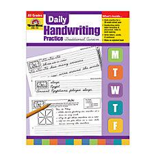 Evan Moor Daily Handwriting Practice Traditional