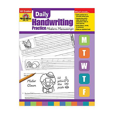 Evan-Moor® Daily Handwriting Practice, Modern Manuscript