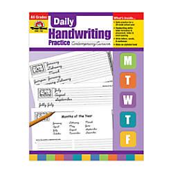 Evan Moor Daily Handwriting Practice Contemporary