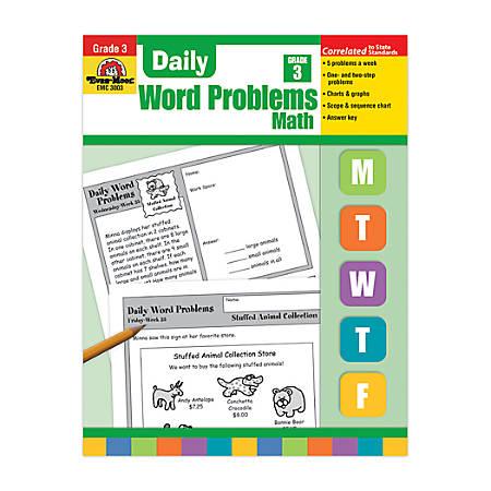 Evan-Moor® Daily Word Problems, Grade 3