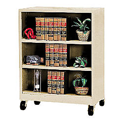 Atlantic Metal Industries Mobile Steel Bookcase