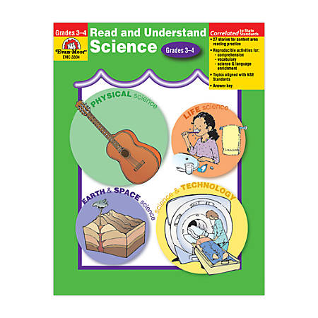 Evan-Moor® Read And Understand Science, Grades 3-4 Item # 657425