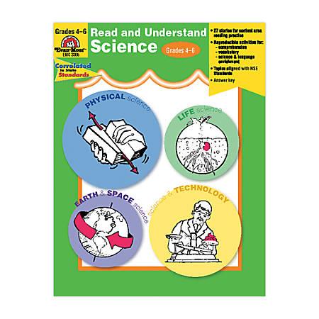 Evan-Moor® Read And Understand Science, Grades 4-6