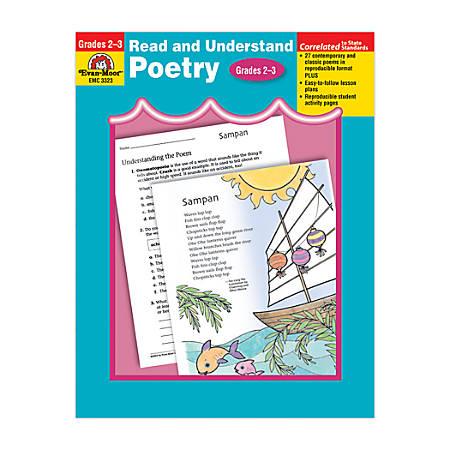 Evan-Moor® Read And Understand Poetry, Grades 2-3