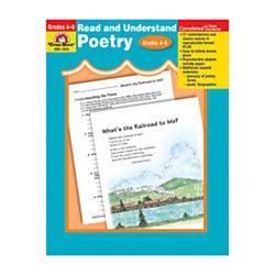 Evan-Moor® Read And Understand Poetry, Grades 4-5