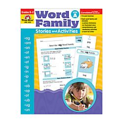 Evan Moor Word Family Stories Act