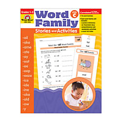 Evan Moor Word Family Stories Act