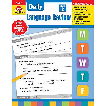 Evan-Moor® Daily Language Review, Grade 2