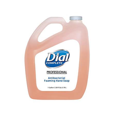 Dial Complete Foaming Antibacterial Hand Wash Refill, Original Scent, 1 Gallon
