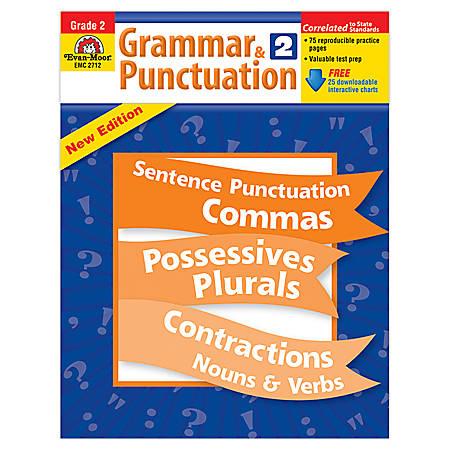 Evan-Moor® Grammar And Punctuation, Grade 2