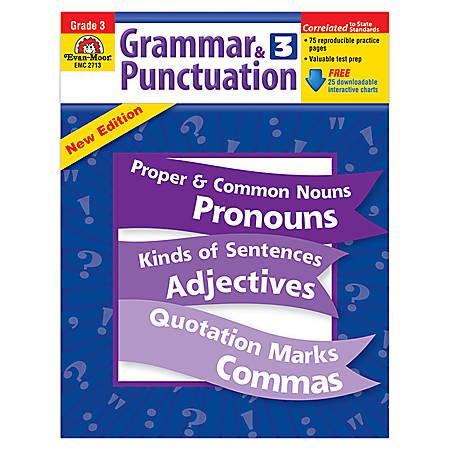 Evan-Moor® Grammar And Punctuation, Grade 3