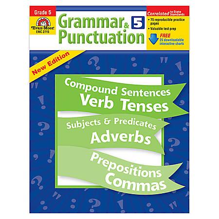 Evan-Moor® Grammar And Punctuation, Grade 5