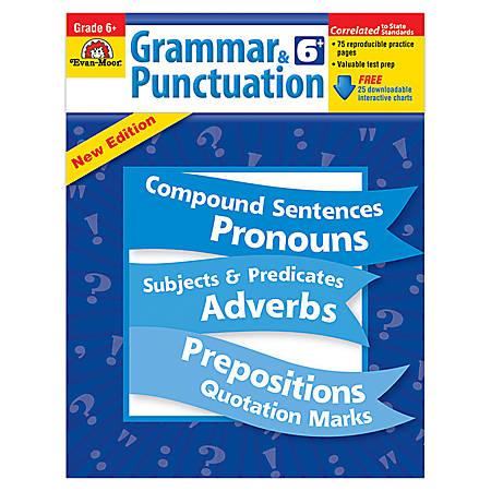 Evan-Moor® Grammar And Punctuation, Grade 6
