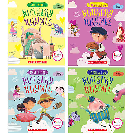 Scholastic Library Publishing Rookie Nursery Rhymes, 4-Book Set