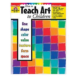 Evan Moor How To Teach Art
