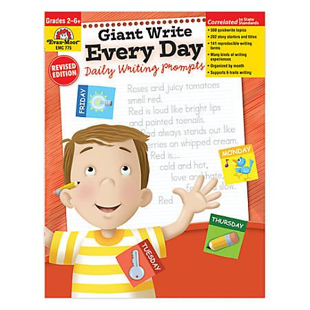 Evan-Moor® Giant Write Every Day, Grades 1-6